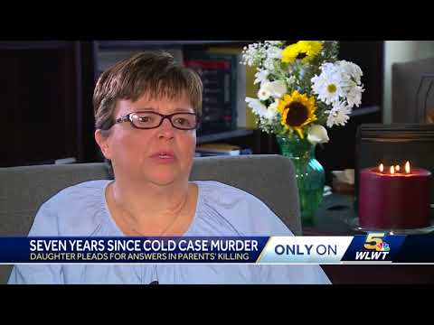 Daughter of couple slain 7 years ago pleads for answers