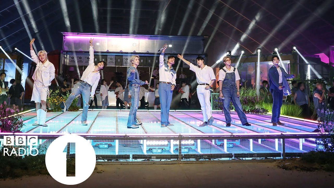 BTS - Permission To Dance in the Live Lounge