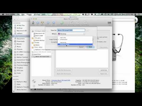 How to Copy Discs with Disk Utility