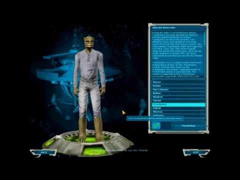 SWGEmu - E1 - Character Creation and Skills