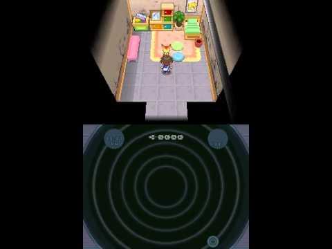 Pokemon Black 2 - Victini Easter Egg at Liberty Garden
