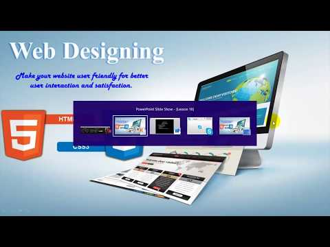 HTML 5 CSS 3 Beautiful Landing Page | Home Page Design LESSON 16