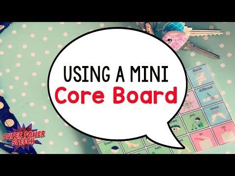 How to use a mini core board