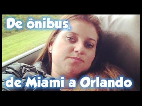 ÔNIBUS DE MIAMI A ORLANDO
