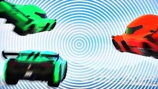 OPTICAL ILLUSION GTA RACE! (GTA 5 Funny Moments)