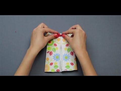 Baby Dress -  DIY Napkin Folding