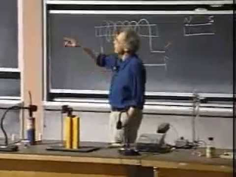 Lec 21: Magnetic Materials | 8.02 Electricity and Magnetism, Spring 2002 (Walter Lewin)