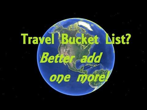 Making a Bucket List of Great Travel Spots?