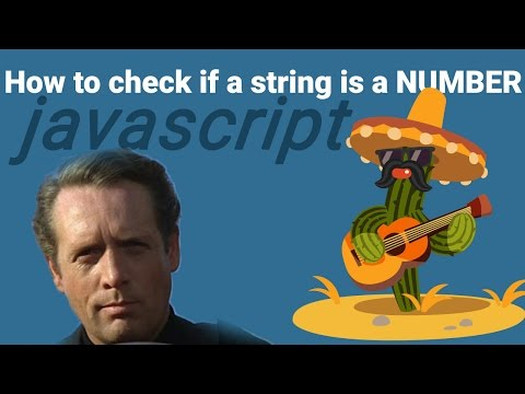 Javascript: How to check if a string is a Number