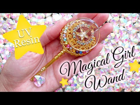 UV Resin Tutorial: Magical Girl Wand + GIVEAWAY (Closed)!