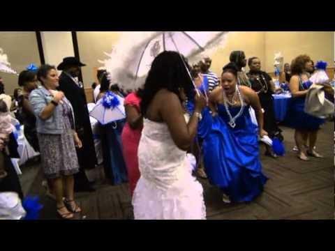 Jackson 2nd line wedding reception