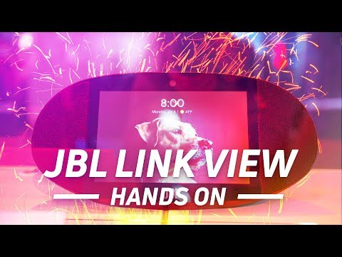 JBL Link View Hands On: Google Assistant With an Audio Kick