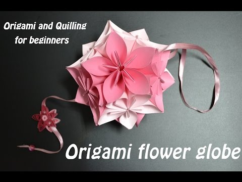 How to make an Origami Flower Ball - Wedding & Party Decorations - Kusudama - DIY Crafts Tutorials