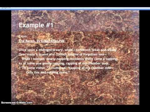 Examples of Onomatopoeia in Poetry