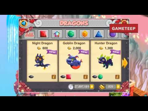 How to breed Night Dragon in Dragon Story!