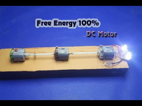 free energy generator using DC motor at home | DIY Experiments projects