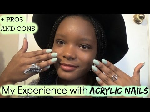 My Experience with Acrylic Nails + Pros and Cons!