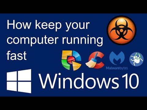 How to keep your computer running fast 2017/2018