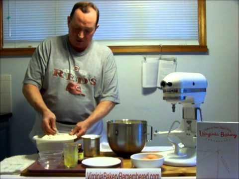 Virginia Bakery Remembered-Yellow dough