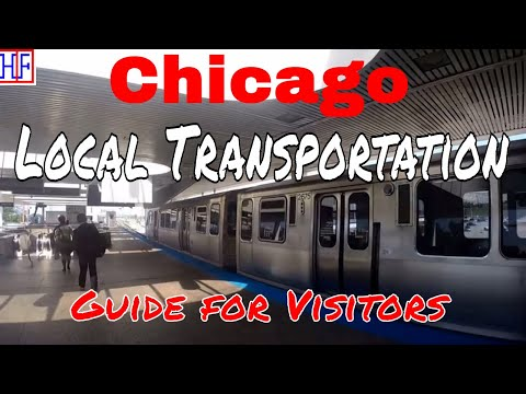 Chicago | Local Transportation - Getting Around | Travel Guide | Episode# 2
