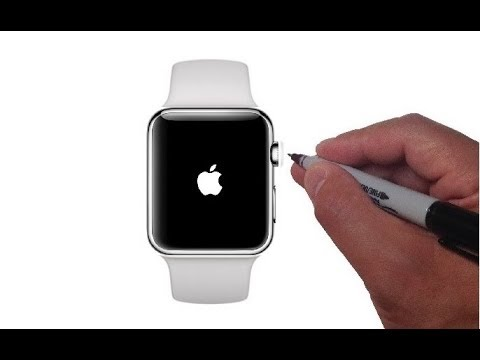 How to Draw the Apple Watch