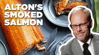 Alton Brown Makes Smoked Salmon | Food Network