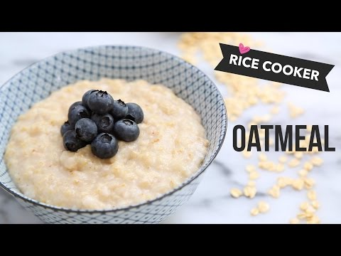 How to Make Oatmeal in a Rice Cooker // Tip Tuesdays with Angel Wong