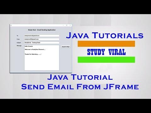Java Swing Application for Sending E-Mail - StudyViral
