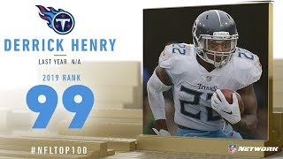 #99: Derrick Henry (RB, Titans)   Top 100 Players of 2019   NFL
