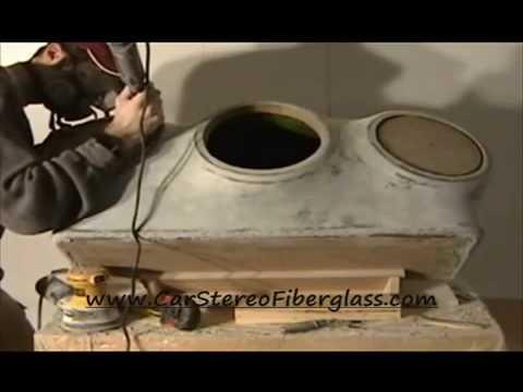 DIY: Car Stereo 3-Sub Enclosure Fiberglass