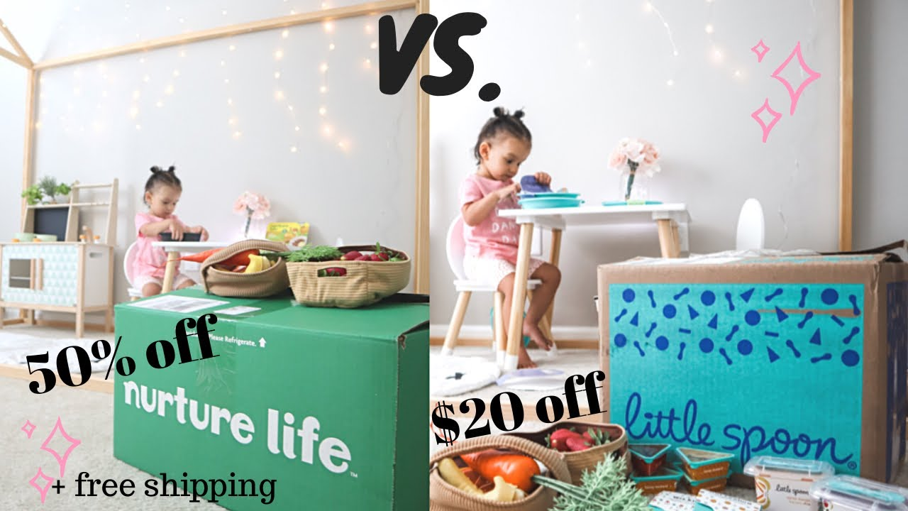NURTURE LIFE VS. LITTLE SPOON / The Brutal Truth/ HONEST REVIEW /50% Off + Free Shipping Code