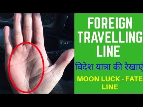 Moon luck in hand इससे अच्छी भाग्य रेखा ओर कोई नहीं. Palmistry in hindi