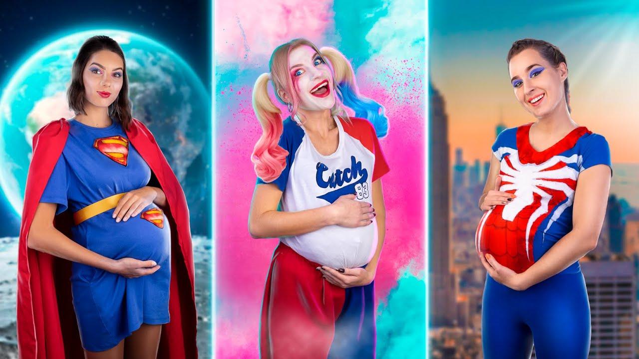 ¡Si Las Súper Heroínas Estuvieran Embarazadas!