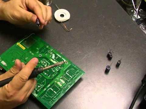 Repairing a Dell E177FPf 17