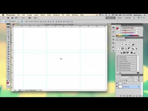 How to Remove Margins in Photoshop : Adobe Photoshop Basics