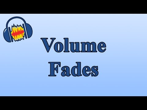 How to Use Volume Fades to Fade Out a Track in Audacity