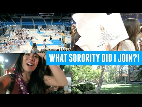 BID DAY! What Sorority Did I Get Into?!