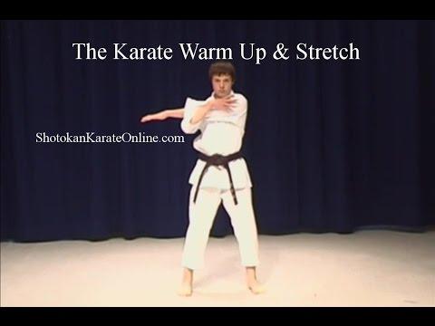 Shotokan Karate Warm Up and Stretch
