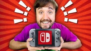 O NOVO VIDEO GAME DA NINTENDO! - Switch