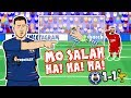 Download  😂MO SALAH! HA! HA! HA!😂 (Chelsea vs Liverpool 1-1 Parody 2018 Sturridge Hazard Goals Highlights ) MP3,3GP,MP4