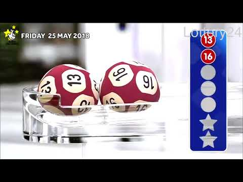 2018 05 25 Euro Millions Number and draw results