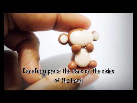 Polymer Clay Monkey Tutorial