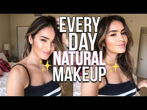 EVERYDAY NATURAL MAKEUP TUTORIAL   Natalie Barbu
