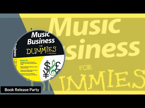 Music Business for Dummies Book Release Party
