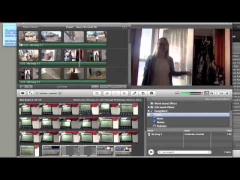 How to change video to black and white in iMovie