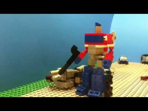 LEGO TRANSFORMERS: Optimus Prime VS. Megatron