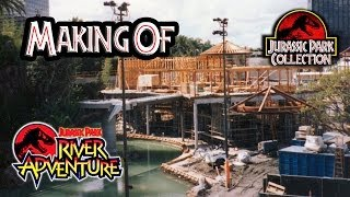 Making of Jurassic Park The Ride