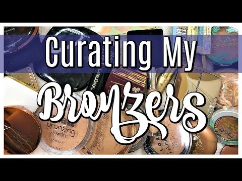 DECLUTTER | Curating My Bronzer Collection