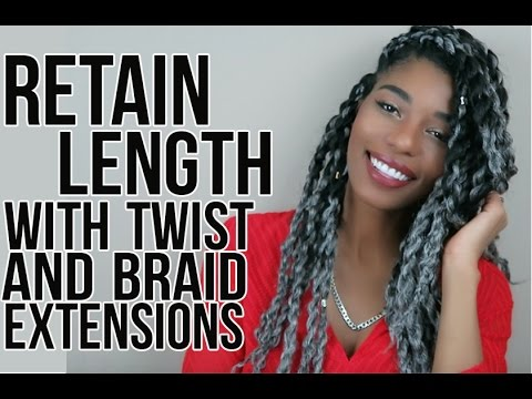 NATURAL HAIR: GROW HAIR FAST WITH BRAIDS AND TWISTS
