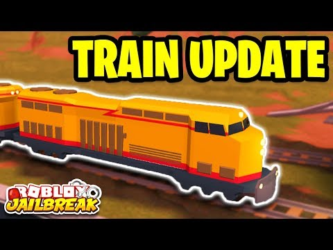 NEW TRAIN UPDATE! LONGER TRAINS! Roblox Jailbreak NEW UPDATE! | 🔴 Roblox Jailbreak LIVE